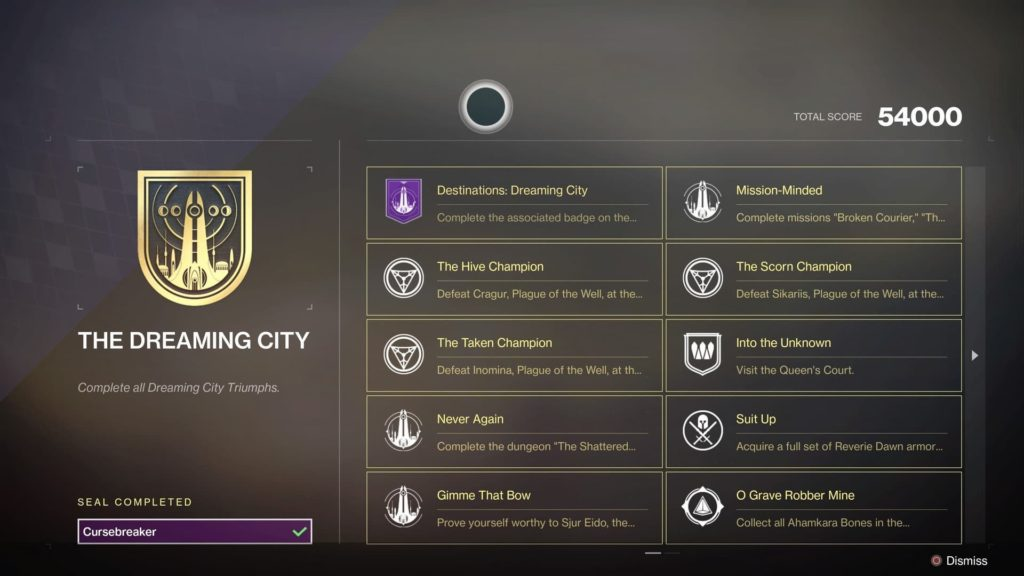 trial of osiris title seals boost carry